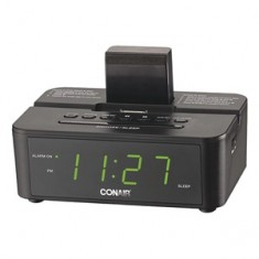 "alt=""Conair CRD500 Hotel Clock Radio with I-Pod Docking"""
