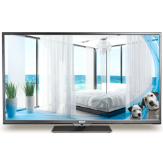 "alt=""RCA J65LV842 Commercial TV with Pro:Idiom"""